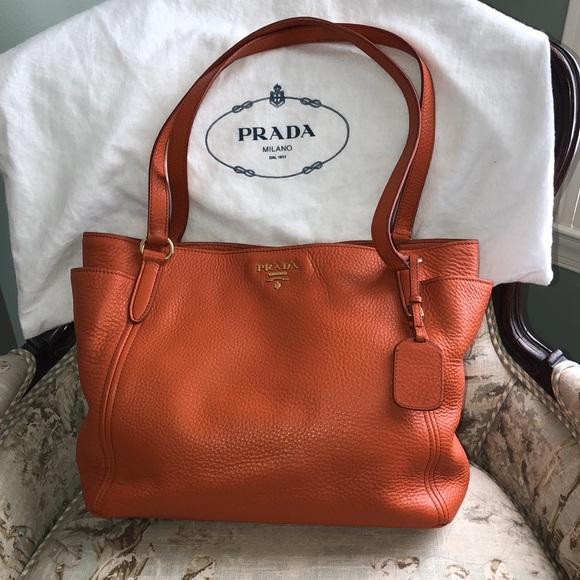 adb81411a628ac Prada Bags | Authentic Sacca 2 Manici Leather Tote | Poshmark